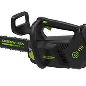 Motosierra de poda de bateria GREENWORKS GD40TCS.