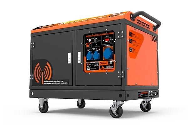 Generador insonorizado GENERGY GUARDIAN S6-RC.