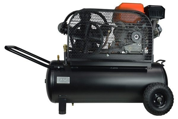 Compresor autonomo de gasolina.