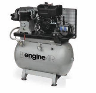 Compresor ABAC BI ENGINEAIR 11/270 DIESEL 2KVA.